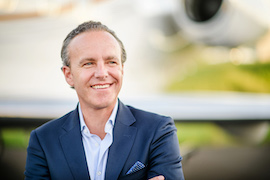 Jamie Walker, President and CEO, Jet Linx